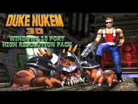 Duke Nukem 3D HD (Windows 10 Port + High Resolution Pack) +