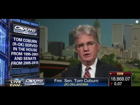 Tom Coburn: Congress Wants to Legalize Bribery with Earmark Vote