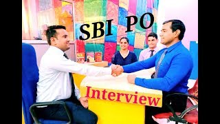 SBI #PO #Interview : probationary officer #SBI