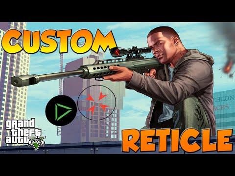 GTA 5 PC MODS - CUSTOM RETICLE - YouTube