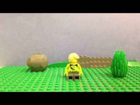How to make a Lego stop motion with a background - YouTube