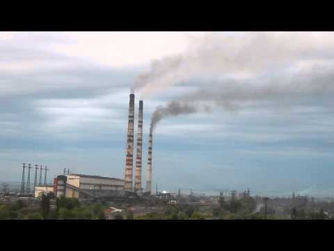 Toxic coal power plant in western Ukraine