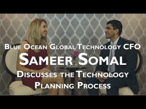 Laura Virili Interviews Sameer Somal, CFO, Blue Ocean Global Technology