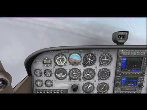 IMC loc dme Parallel entry approach Blackpool Airport 4K