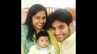 Hero Aadi with wife ARUNA and Daughter Family  Unseen Video