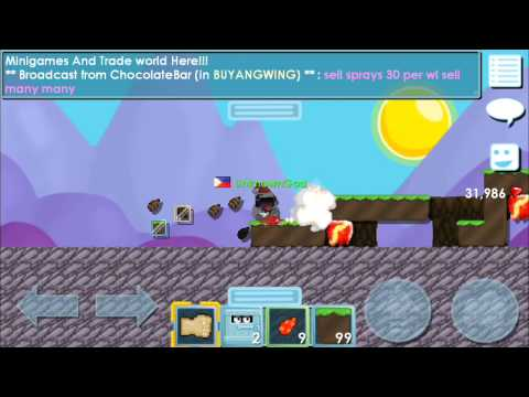 Growtopia:Clearing And About To Make The Auto Run