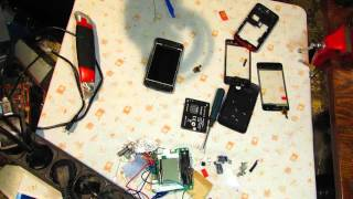 Замена сенсора Alcatel one touch 4030d Replacing the sensor