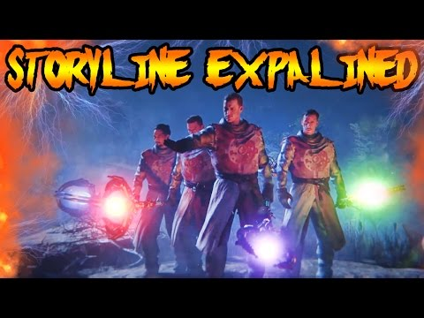 CHARACTERS ARE PRIMIS! MAXIS DIES! Black Ops 3 Zombies REVELATIONS Easter Egg Ending Explained