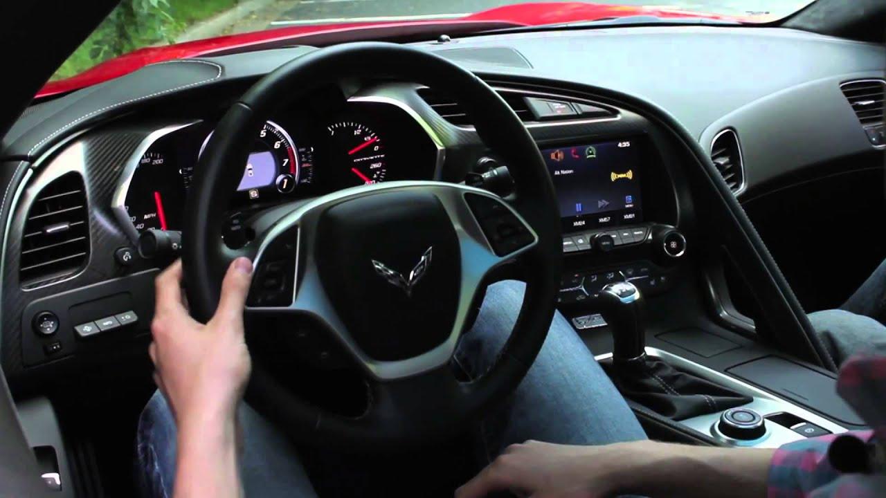 2014 Chevrolet Corvette Stingray Interior In Depth Car
