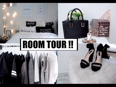 MINIMALISTIC PINTEREST INSPIRED ROOM TOUR!! 2017