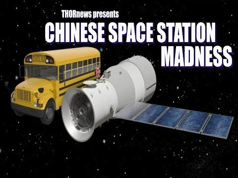 Chinese Space Station to Crash into Earth in the next 48 hours! Tiangong-1 time!