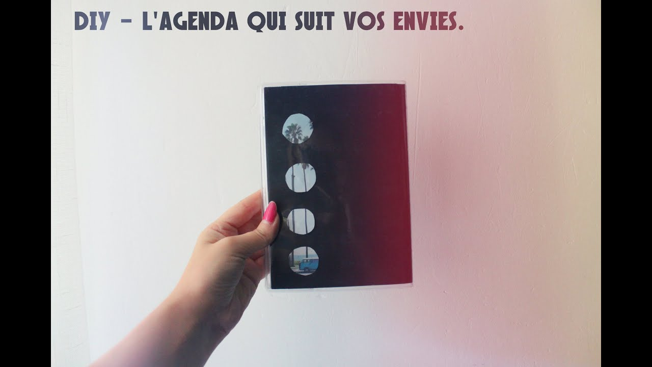 Bien connu BACK TO SCHOOL - DIY L'agenda qui suit vos envies. - YouTube BZ33