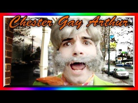 CHESTER GAY ARTHUR (TMZ parody)