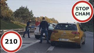 Stop Cham #210 - Niebezpieczne i chamskie sytuacje na drogach