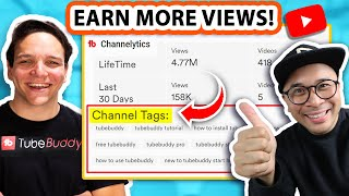 YouTube Channel Keywords   Cąn they help YOU earn more views?