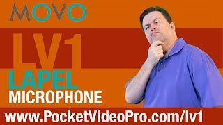 Best iPhone Lapel Mic - Movo LV1 Lapel Mic Review - Ray The Video Guy