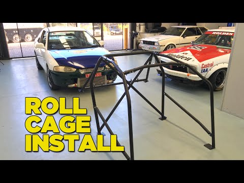 How To Install a Roll Cage - 2SEXY