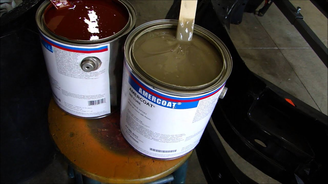 Dangers of epoxy paint fumes -