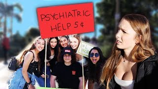 I gave strangers PSYCHIATRIC help (results were very strange...)