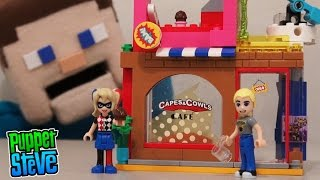 LEGO DC Super Hero Girls Harley Quinn to the Rescue Playset 41231 Unboxing Review