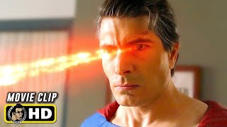 CRISIS ON INFINITE EARTHS (2019) Superman Vs. Superman Fight Scene [HD] Brandon Routh