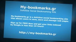 Dofollow Social Bookmarking Site - My-bookmarks.gr