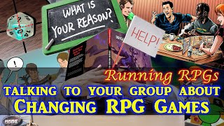 Changing Systems - Running RPGs