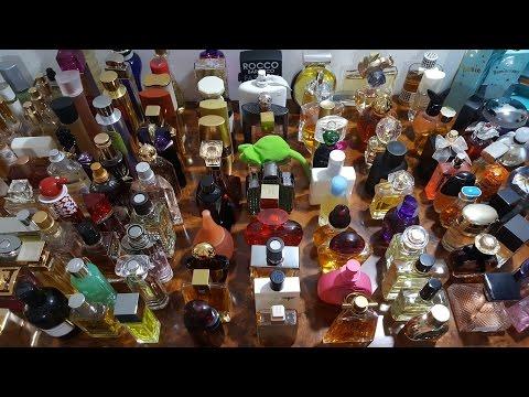 Моя мега коллекция Парфюмерии. My Mega Collection Of Perfumes.