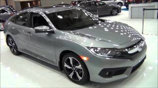 All-New 2016 Honda Civic 4D Touring // Baltimore Auto Show 2016