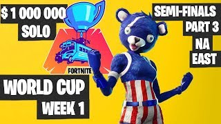 Fortnite World Cup Semifinals Part 3 Highlights - NA East Day 1 [Fortnite Tournament 2019]