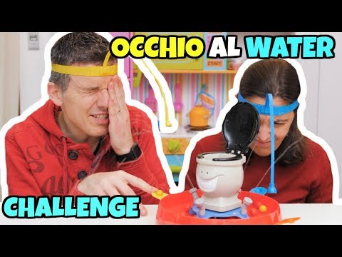 SFIDIAMO IL WATER: Beat The Flush Toilet CHALLENGE