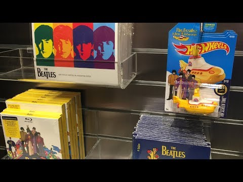 "Off The Pegs: Beatles ""Love"" souvenir shop at Circue De Soleil in Las Vegas (in-store video)"