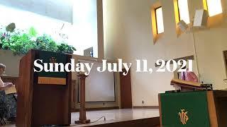 Sunday July 11, 2021