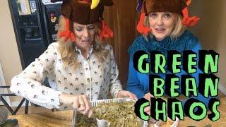 GREEN BEAN CASSEROLE CHAOS // Grace Helbig Thumbnail