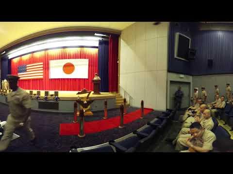 Chief Pinning 2017: 7th Fleet and USS Blue Ridge Part 2 of 3