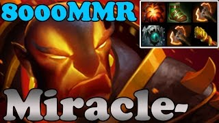 Dota 2 - Miracle- 8000MMR Plays Ember Spirit vol 5 - Ranked Match Gameplay