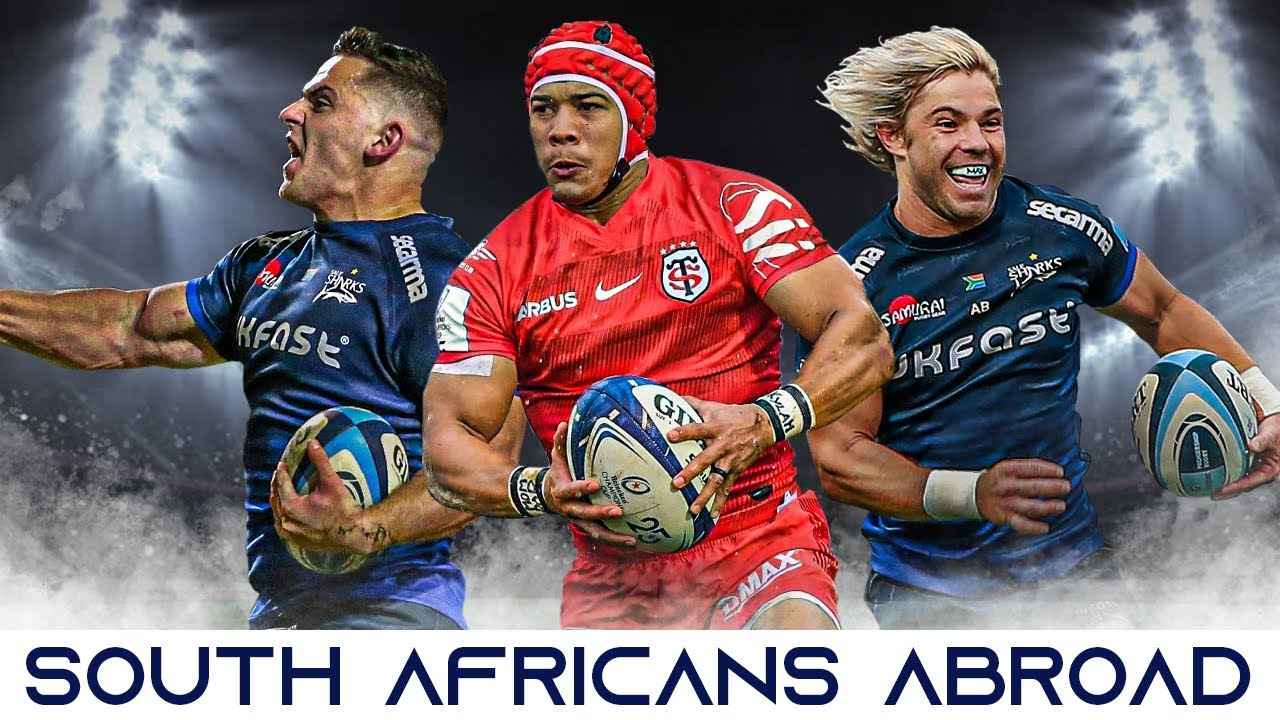 South Africans Dominating Abroad 2020 | Springboks and South African Rugby Players Overseas