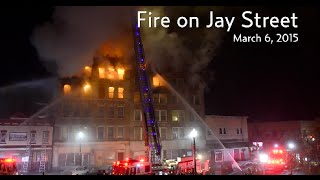 Fire on Jay Street
