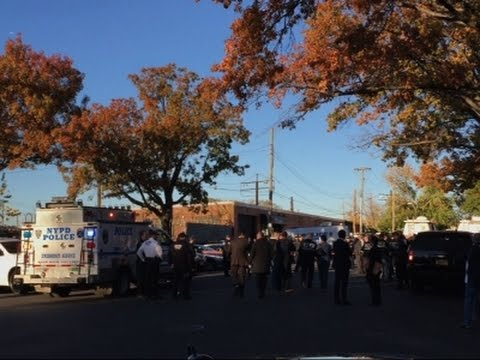 2 New York Police Officers Shot, 1 Killed