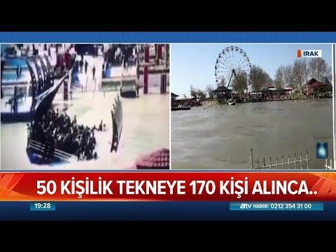 50 Kişilik tekneye 170 kişi alınca...  - Atv Haber 22 Mart 2019