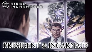 Rise of Incarnates - PC - President and Incarnate (Gamescom Trailer)