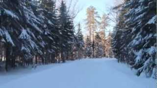 Cross Country Ski Trails - Pistes de ski de fond Bathurst, NB