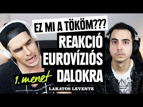Radics Gigi beképzelt? Reakció az Eurovízióra nevezett dalokra 1. menet | Lakatos Levente letöltés