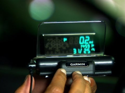 Keep Your Eyes On The Road With Garmin HUD