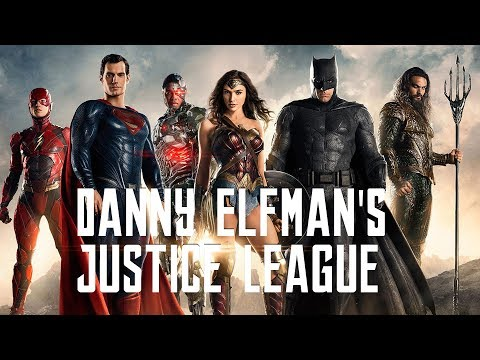 The Justice League Trailer With Danny Elfman's Batman Music