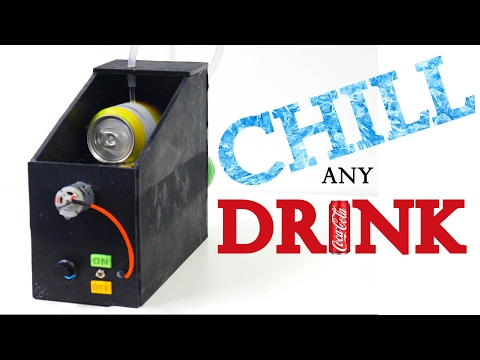 Instant Drink Chiller - How to Make a Cooling Machine