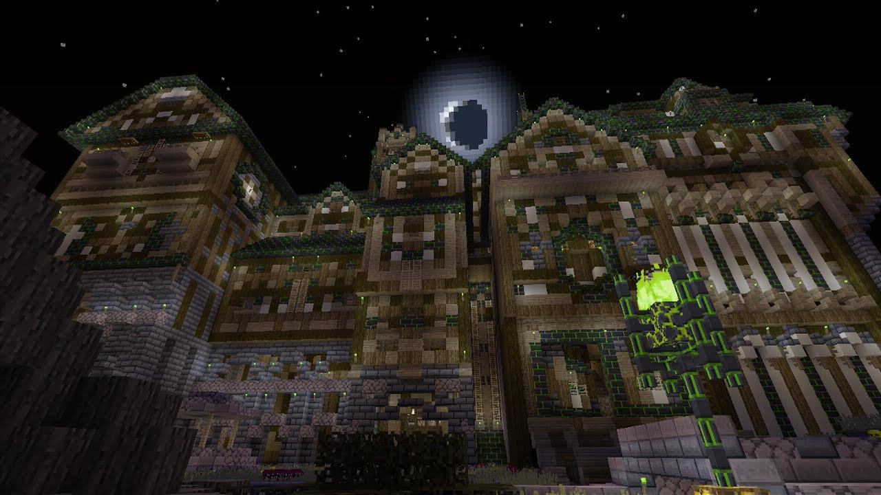 Minecraft Haunted House
