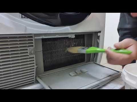 Вопрос: Как почистить барабан сушильной машины?