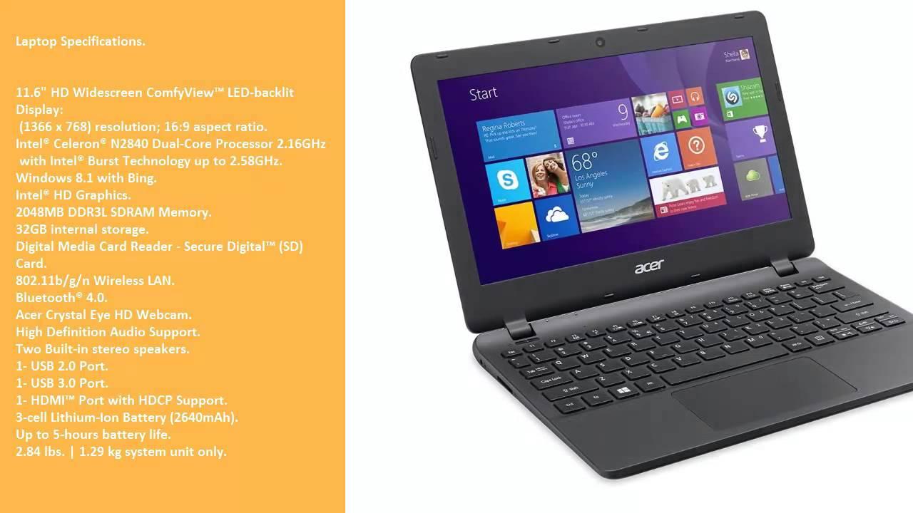 Acer Aspire ES1-111M Driver FREE