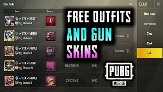 HOW TO GET FREE OUTFITS AND GUN SKINS IN PUBG MOBILE